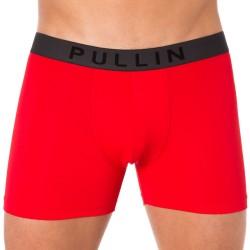 Lot de 2 Boxers Master Unis Rouge - Gris Pullin