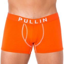 Lot de 2 Shortys Coton Bleu Nuit - Orange Pullin