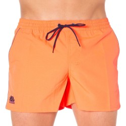 Short de Bain Rosco Orange Fluo Sundek