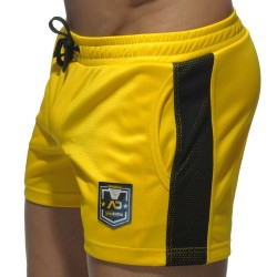 Short Badge Sport Jaune Addicted