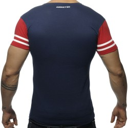 T-Shirt V-Neck H8T Marine Addicted