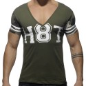 V-Neck H8T T-Shirt - Khaki