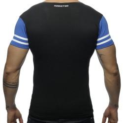 T-Shirt V-Neck H8T Noir Addicted