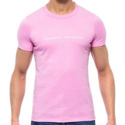 T-Shirt Rose Garçon Français