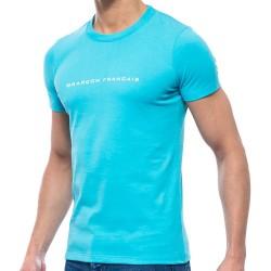 T-Shirt Turquoise Garçon Français
