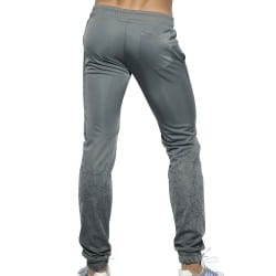 Geometric Casual Pants - Grey ES Collection