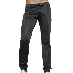 Geometric Casual Pants - Black ES Collection