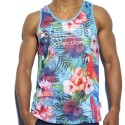 Tropical Tank Top - Blue