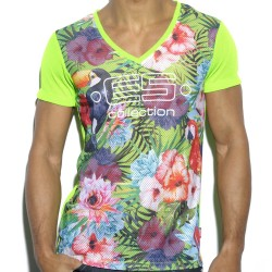 T-Shirt Tropical Vert ES Collection
