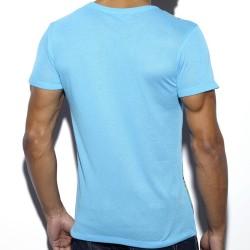 T-Shirt Tropical Bleu ES Collection