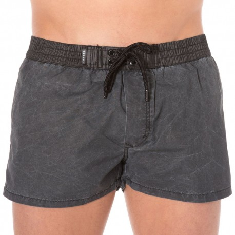 Short de Bain Waterdenim Noir