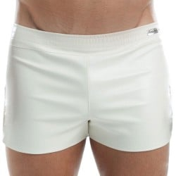 Short Leather Blanc Modus Vivendi