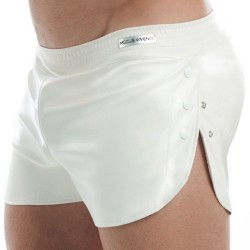Leather Short - White Modus Vivendi