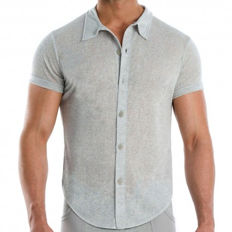 Flame Shirt - Grey