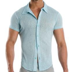 Flame Shirt - Sky Blue Modus Vivendi