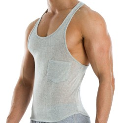 Flame Tank Top - Grey Modus Vivendi