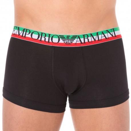 Boxer Fancy Italian Logoband Noir