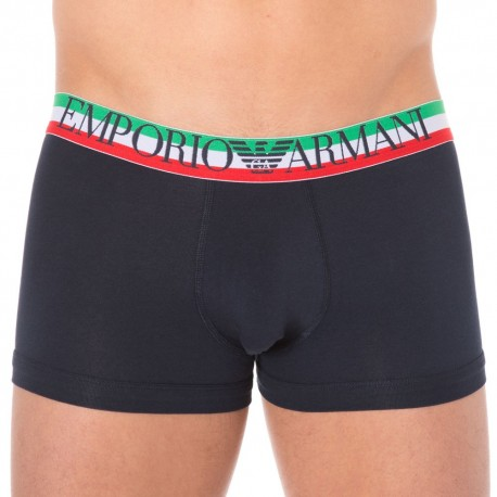 Fancy Italian Logoband Boxer - Navy