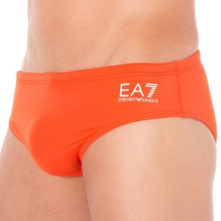 Slip de Bain EA7 Sea World Color Block Orange Emporio Armani
