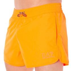 Short de Bain EA7 Sea World Bright Orange Fluo Emporio Armani