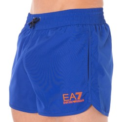 Short de Bain EA7 Sea World Bright Bleu Electrique Emporio Armani