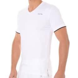 T-Shirt Core Solids Blanc Calvin Klein