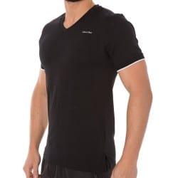 T-Shirt Core Solids Noir Calvin Klein