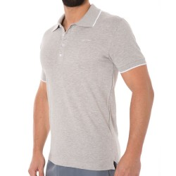 Polo Core Solids Gris Calvin Klein