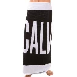 Drap de Bain Noir - Blanc Calvin Klein