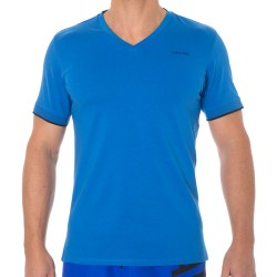 T-Shirt Core Solids Bleu Princesse Calvin Klein