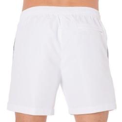 Short de Bain CK One Logo Tape Blanc Calvin Klein