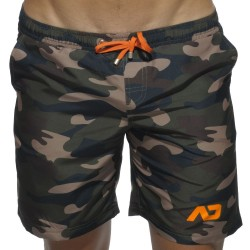 Short de Bain Long Camouflage Addicted
