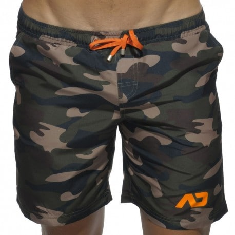 Long Swim Short - Camouflage