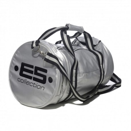 Athletic Sports Bag - Silver