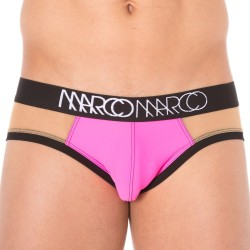 Slip Nude Illusion Rose Fluo MARCO MARCO