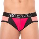 Slip NY Neon Rouge - Noir