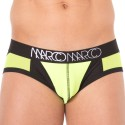 NY Neon Brief - Yellow - Black