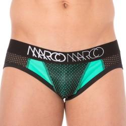 Slip NY Basketball Mesh Turquoise - Noir MARCO MARCO