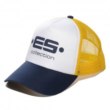 Print Logo Baseball Cap - Navy