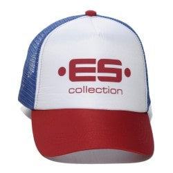 Print Logo Baseball Cap - Red ES Collection