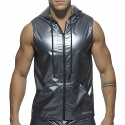 Veste Hoody Metal Acier Addicted