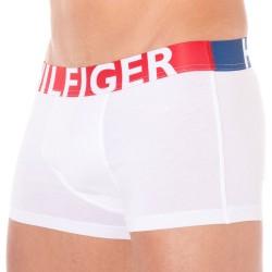 Boxer HILFIGER Color Block Blanc Tommy Hilfiger