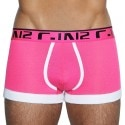 Super Bright Boxer - Pink - White