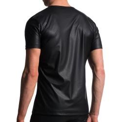 T-Shirt V-Neck M104 Noir Manstore