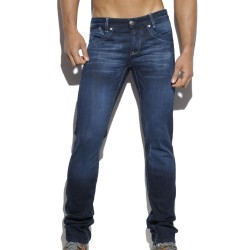 Pantalon Jeans Relief Pockets Indigo ES Collection