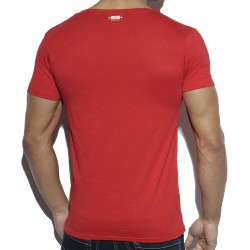 T-Shirt Military Style Rouge ES Collection