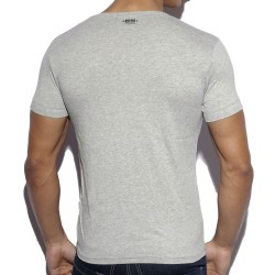T-Shirt Military Style Gris ES Collection