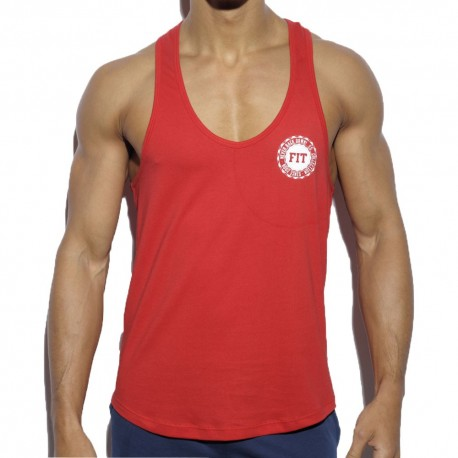 Never Back Down Tank Top - Red