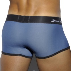 Pique Jeans Boxer - Blue with Brown Waistband ES Collection