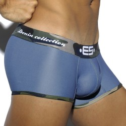 Pique Jeans Boxer - Blue with Camo Waistband ES Collection